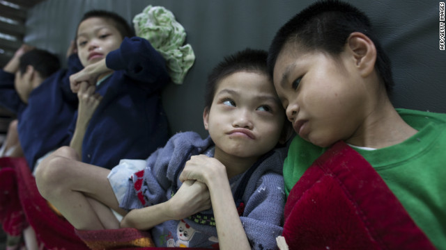 One million people in Vietnam have disabilities or health problems associated with Agent Orange, the Red Cross estimates.