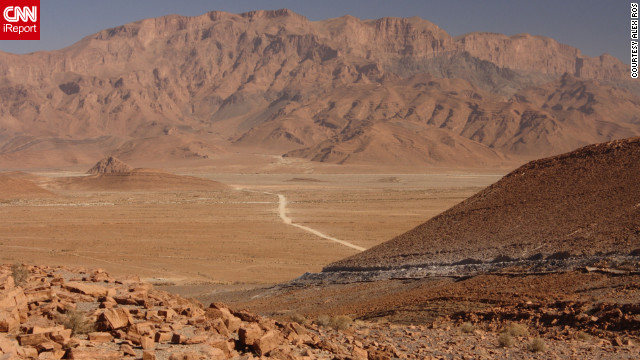 "<a href='http://ireport.cnn.com/docs/DOC-825413'>Alex Ros</a> thinks of southeastern Morocco between Tata and Tafraoute as one of Earth's hidden nooks: ""As if the planet was a large living room, with furniture and areas that people regularly use, but far off in one of its corners, behind a large couch and side table with old coffee table books on it, underneath a rug that hasn't been moved for years, is a tiny pathway you had no idea was there."""