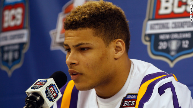 LSU: Heisman hopeful Mathieu, aka 'Honey Badger,' dismissed for breaking team rules