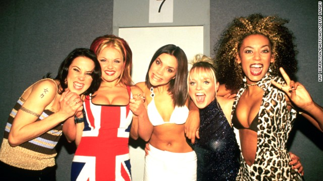 Solo careers and families weren't on group members' minds backstage at the 1997 BRIT Awards.