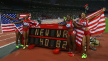 U.S. women\'s sprint relay team