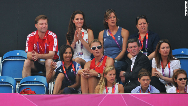 After the match, Kate, Duchess of Cambridge, will teach her countrymen how to smile.