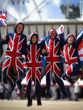 Brits hope the country's renewed optimism will be one of the lasting legacies of the Games.