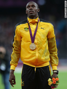 "Linford Christie's highlight is probably a fan favorite too: ""My most memorable moment, of course, is when Usain Bolt came out to get his medal after the 100m, and the entire place just lit up,"" he says. ""The roar of the crowd was ear-piercing. It was just wonderful, I was really glad I was there."""