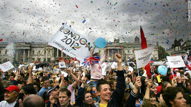 The announcement that London had won the bid to host the 2012 Olympic Games was greeted with widespread jubilation.