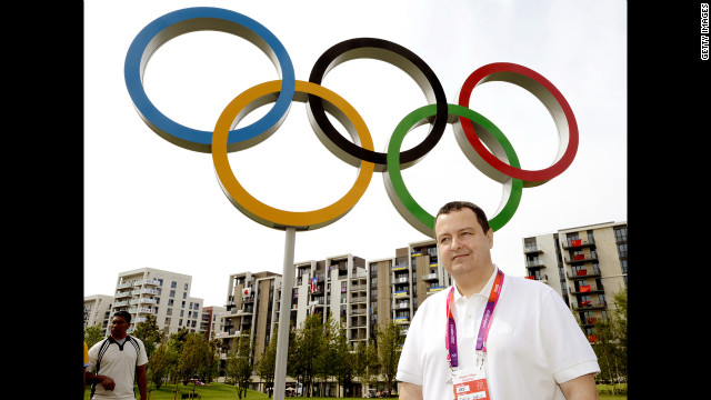 The prime minister of Serbia, Ivica Dacic, has the Olympic rings inserted in his head every other day between 2 and 3:30 p.m. &quot;It only hurts when I chew,&quot; he says of the elaborate surgical procedure.