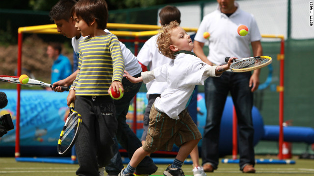 London 2012 organizers hope that the legacy of the city's Summer Games will be to encourage children across the country to be inspired by the sporting event.