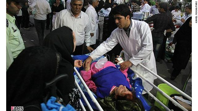 Terminan las operaciones de rescate en Irán tras terremotos que dejaron 250 muertos