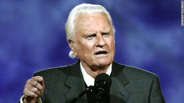 Evangelist Billy Graham hospitalized