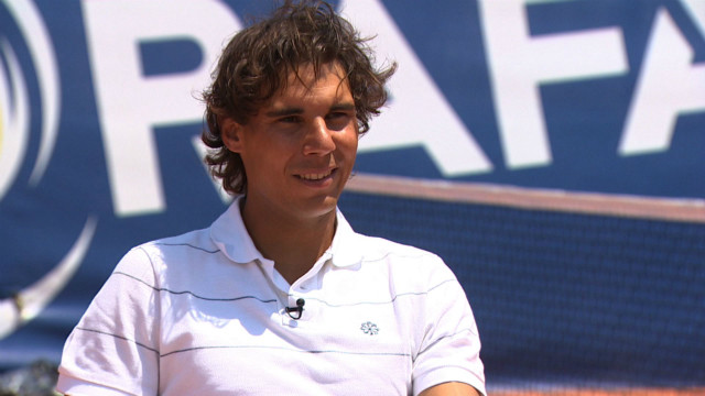 At home with Rafael Nadal