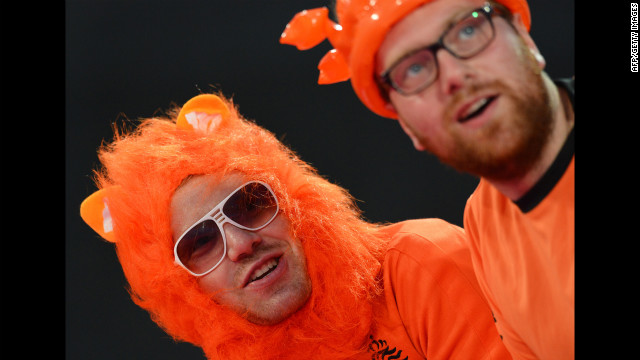 Netherlands fans also took part in the local furry convention.