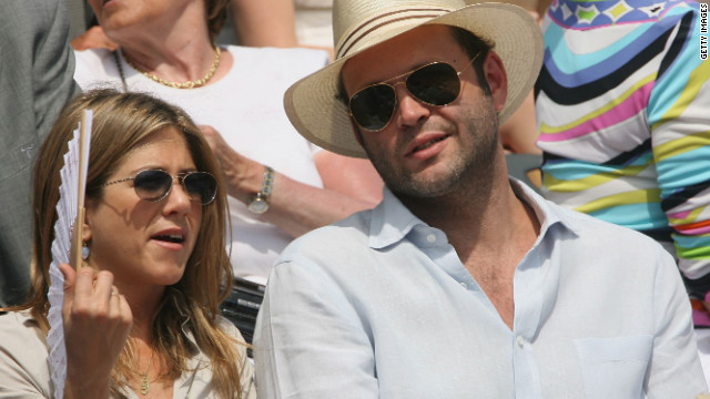 "Real-life couple Vince Vaughn and Aniston co-starred in 2006's ""The Break-Up,"" which is coincidentally what the couple did later that year."