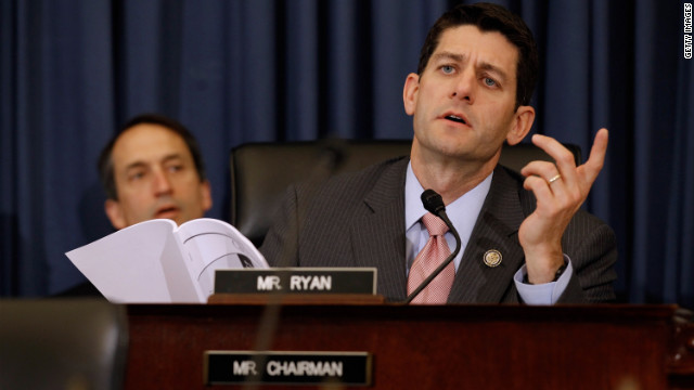 Rep. Paul Ryan, chairman of the House Budget Committee, during a June hearing on Capitol Hill.