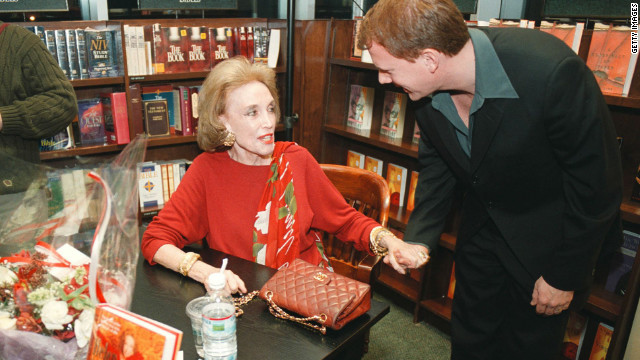 "In 2000, Gurley Brown attends a book signing to promote her book, ""I''m Wild Again,"" at a Barnes & Noble in New York."