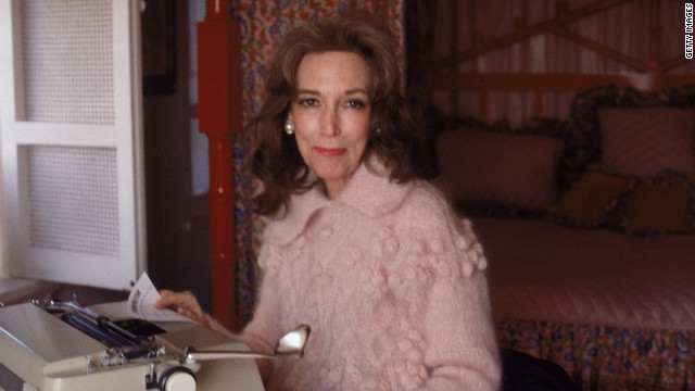 Helen Gurley Brown in her New York apartment in 1979. The former editor-in-chief of Cosmopolitan magazine and author of &quot;Sex and the Single Girl&quot; died on Monday, August 13. She was 90.
