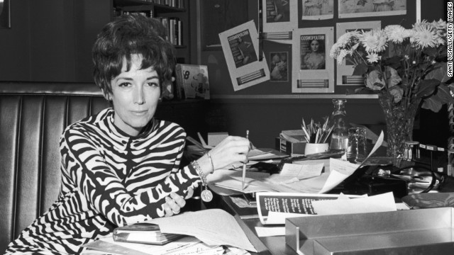 Helen Gurley Brown, former editor-in-chief of Cosmopolitan magazine and author of &quot;Sex and the Single Girl,&quot; died on August 13 at age 90.