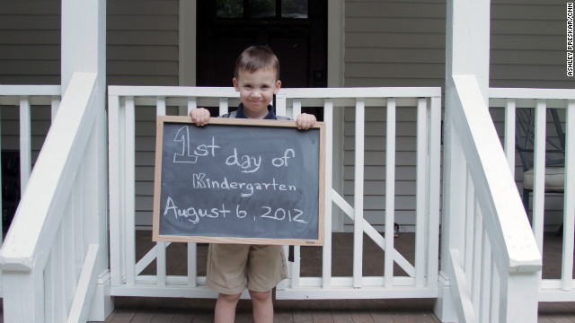 iReport Assignment: First day of school photos