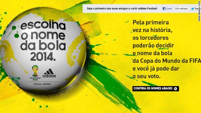 ¿Cómo se llamará el balón del Mundial de Fútbol 2014?