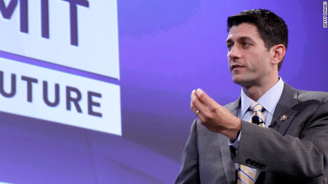 Budget Committee Chairman Paul Ryan discusses Medicare and Medicaid funding at a Fiscal Summit in Washington last year.