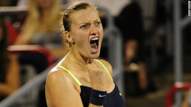Former world No. 2 Petra Kvitova won the first grand slam title of her career at Wimbledon last year.