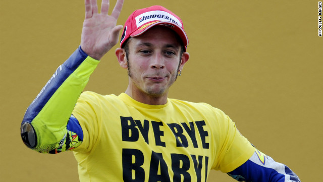 "Rossi left Yamaha in 2010, having won 46 races for the Japanese team. However, that year the man known as ""The Doctor"" lost his world title to younger teammate Lorenzo."