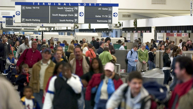 Hartsfield Jackson Atlanta International Airport holds two records, according to Guinness World Records. It is the busiest airport in the world in terms of the number of aircraft taking off and landing -- 924,000 in 2011 -- and also has the most passengers traveling through -- more than 92 million last year.