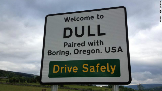 "A ""Dull"" and ""Boring"" partnership"