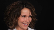 "Actress Jennifer Grey talks about her ""Dirty Dancing"" experience and shares a ""Dancing with the Stars"" wardrobe secret."