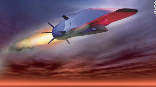 Avión hipersónico se estrella en el Océano Pacífico