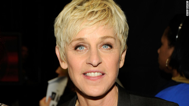 Ellen DeGeneres honored with Mark Twain prize