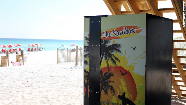 The Sandbox will save you from frying on the shore at Miramar Beach with a stock of sunscreen, goggles and other seaside essentials.
