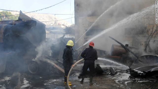 Una bomba explota cerca de un hotel con personal de la ONU en Siria