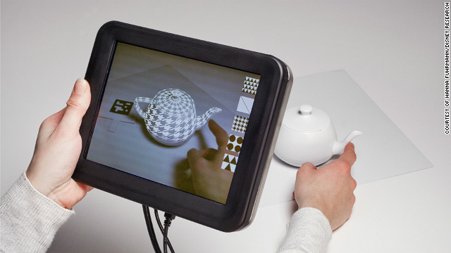 Researchers at Disney are working on a new wearable technology which adds tactile sensations to objects and surfaces.