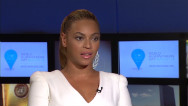 Beyonc setting example for Humanitarian Day
