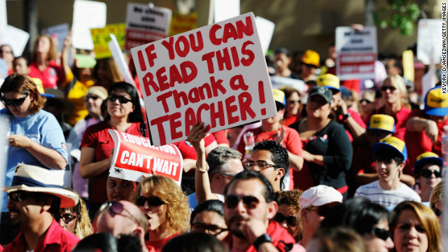 Overheard on CNN: Debate between Ravitch, Rhee – Teacher: 'Just let me teach.'