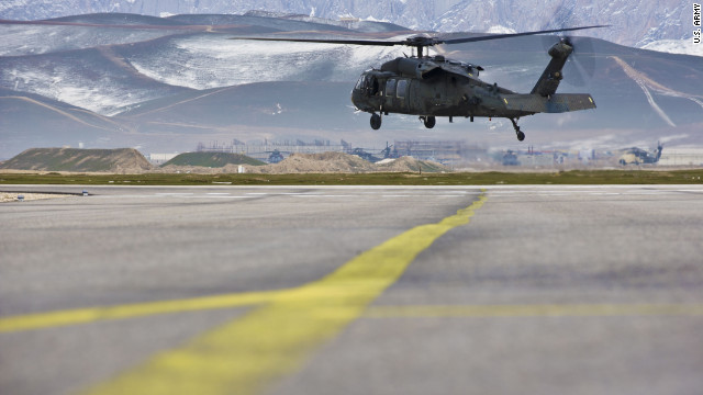 7 Americans among 11 killed as NATO copter crashes in Afghanistan