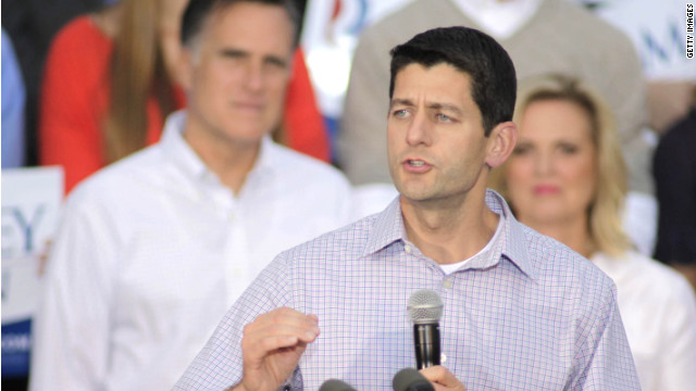 Republican vice presidential candidate Paul Ryan addresses a campaign event this week in Waukesha, Wisconsin.