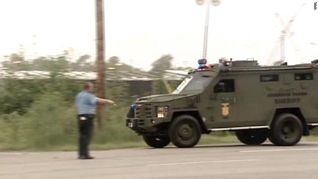 Dos policías muertos y otros dos heridos en tiroteos en Louisiana