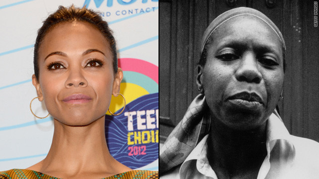 Zoe Saldana to play Nina Simone?