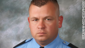 Deputy Jason Triche was wounded in the ambush that left Nielsen and Jeremy Triche dead.