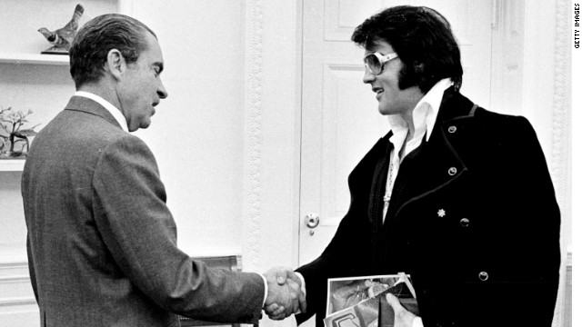 Remembering the King: When Nixon met Elvis
