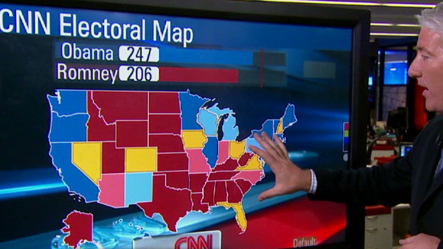 """CNN Electoral Map: Wisconsin moves to true """"toss up"""" – CNN Political ..."""