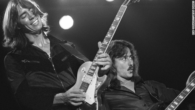 "Boston complained about Republican presidential hopeful Mike Huckabee playing their 1970s hit ""More than a Feeling"" without the band's permission in 2008. Boston's Tom Scholz, left, and Barry Goudreau, pictured."