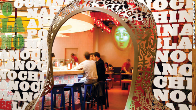 Chef José Andrés' casual outpost unites Chinese and Mexican food under one high-design roof in the Cosmopolitan of Las Vegas.