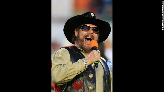 Singer Hank Williams Jr. is a vocal Republican supporter.