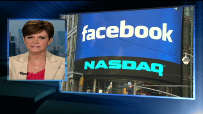 Facebook stock slides
