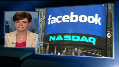 Facebook stock slides