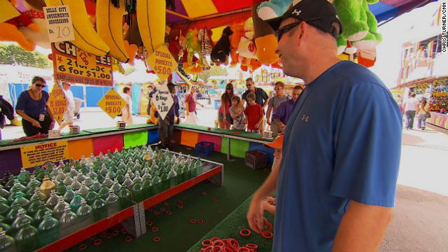 The Iowa State Fair has been a must for both presidential campaigns in the past week because of Iowa's pivotal role in this year's election. President Barack Obama stopped by during his three-day bus tour across the state. And Mitt Romney's campaign chose the fair for running mate Paul Ryan's solo debut.