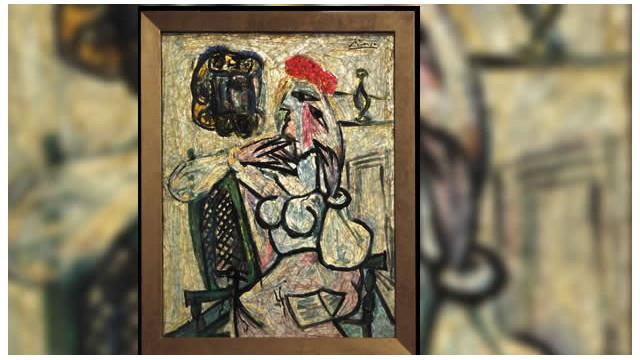 Un Picasso oculto durante 50 años sale a la venta