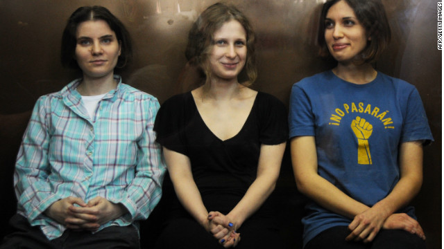 Report: Pussy Riot member asks for solitary confinement